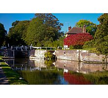 Lock cottage Photographic Print
