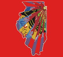 Illinois Blackhawks by Doug Schultheis
