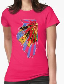 Illinois Blackhawks Womens T-Shirt
