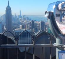 Top of the Rock Sticker