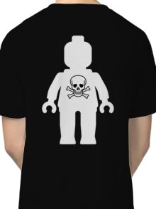 Minifig with Skull  Classic T-Shirt