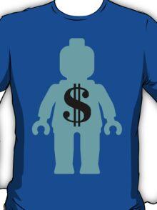 Minifig with Dollar Symbol T-Shirt