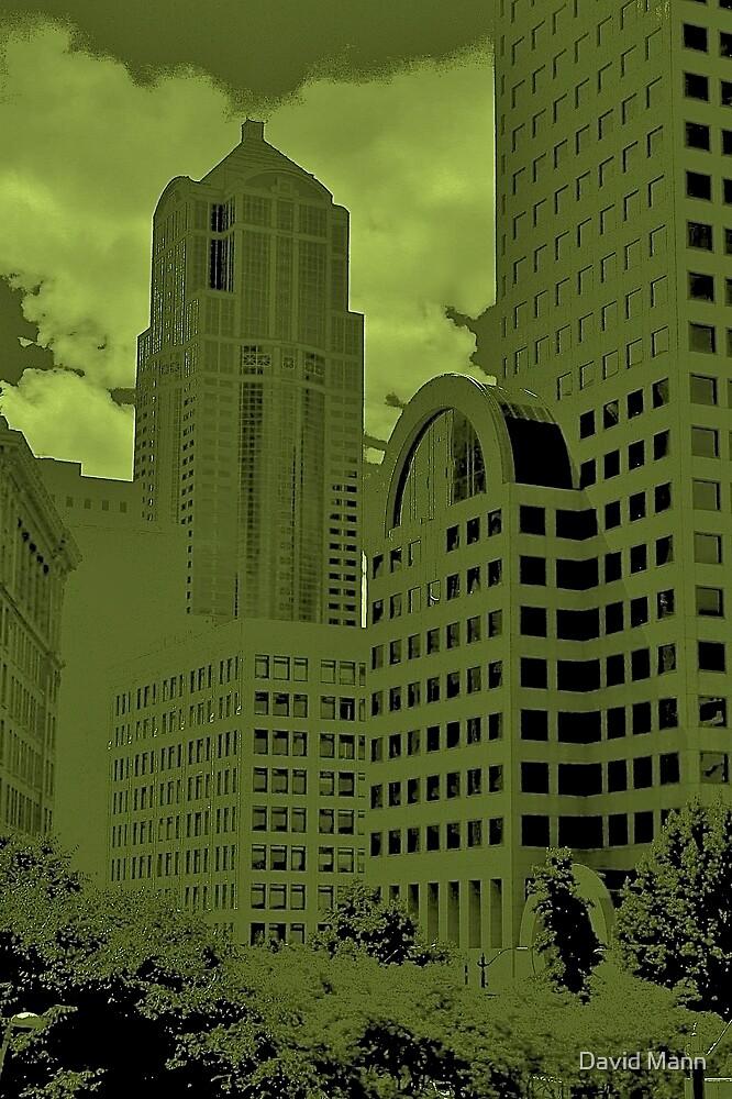 Green Seattle by David Mann