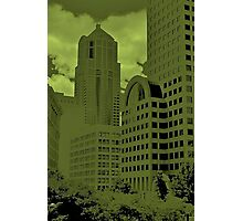 Green Seattle Photographic Print