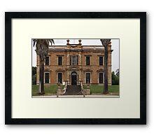 Martindale Hall Framed Print