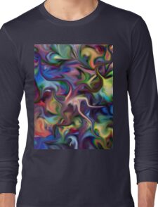 impressionist, pastel colors, inspiration, motivation, self help, holiday, christmas, gift, Long Sleeve T-Shirt