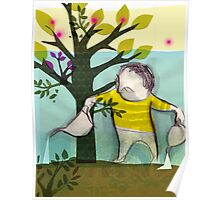 garden boy:watering charlie Poster