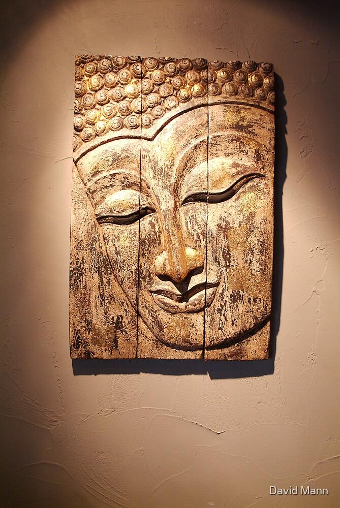Buddha Carving by David Mann