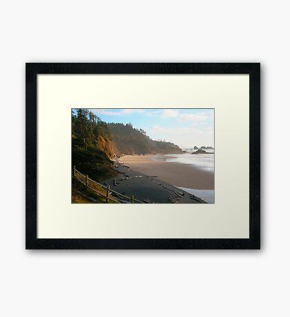 Coastal Light Framed Print