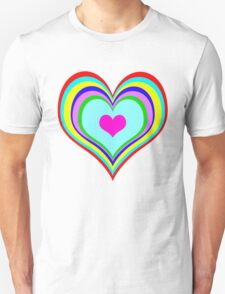 Retro Heart Unisex T-Shirt