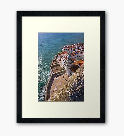 """""""Light House"""" Framed Print"""