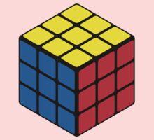 Rubiks Cube Baby Tee