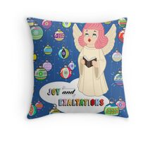 Joy from Queenie! Throw Pillow