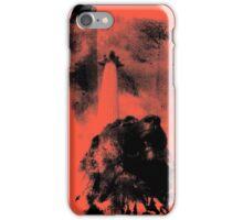 Trafalgar Square Lion, London UK Coral iPhone Case/Skin