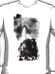 Trafalgar Square Lion, London UK Coral T-Shirt