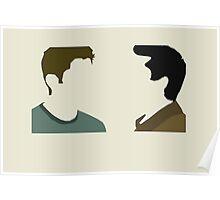 Destiel Talking Heads Poster