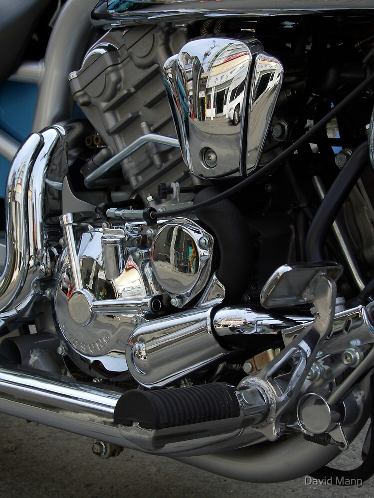 Detail of Engine by David Mann