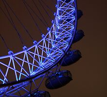 London Eye Xmas Day by simonc