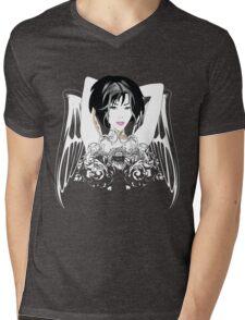 Vintage Girl Mens V-Neck T-Shirt