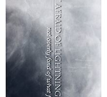 Not Afraid Of Lightning - Loki by scarletprophesy