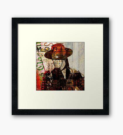 El Zorro Framed Print