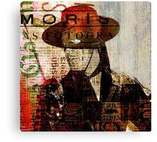 El Zorro Canvas Print