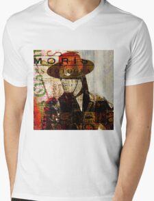 El Zorro Mens V-Neck T-Shirt