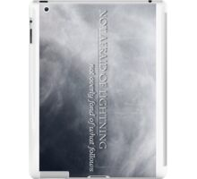 Not Afraid Of Lightning - Loki iPad Case/Skin