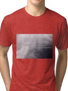 Not Afraid Of Lightning - Loki Tri-blend T-Shirt