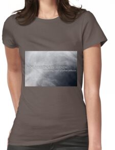 Not Afraid Of Lightning - Loki Womens Fitted T-Shirt