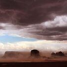 Monument Valley Dust Storm by Robyn Lakeman