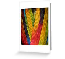Yarn 1 Greeting Card
