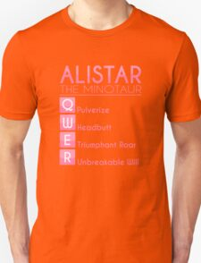 Champion Alistar Skill Set In Pink Unisex T-Shirt