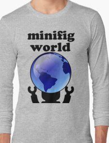 MINIFIG WORLD Long Sleeve T-Shirt