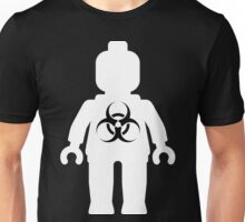Minifig with Radioactive Symbol, Customize My Minifig Unisex T-Shirt