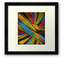 Yarn 4 Framed Print