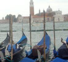 Gondolas at San Marco Sticker