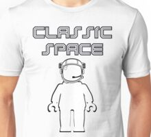 Classic Space Banksy Style Minifig, Customize My Minifig Unisex T-Shirt