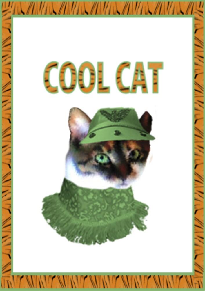 cool cat by CheyenneLeslie Hurst