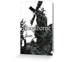 Bloodborn Windmill Greeting Card