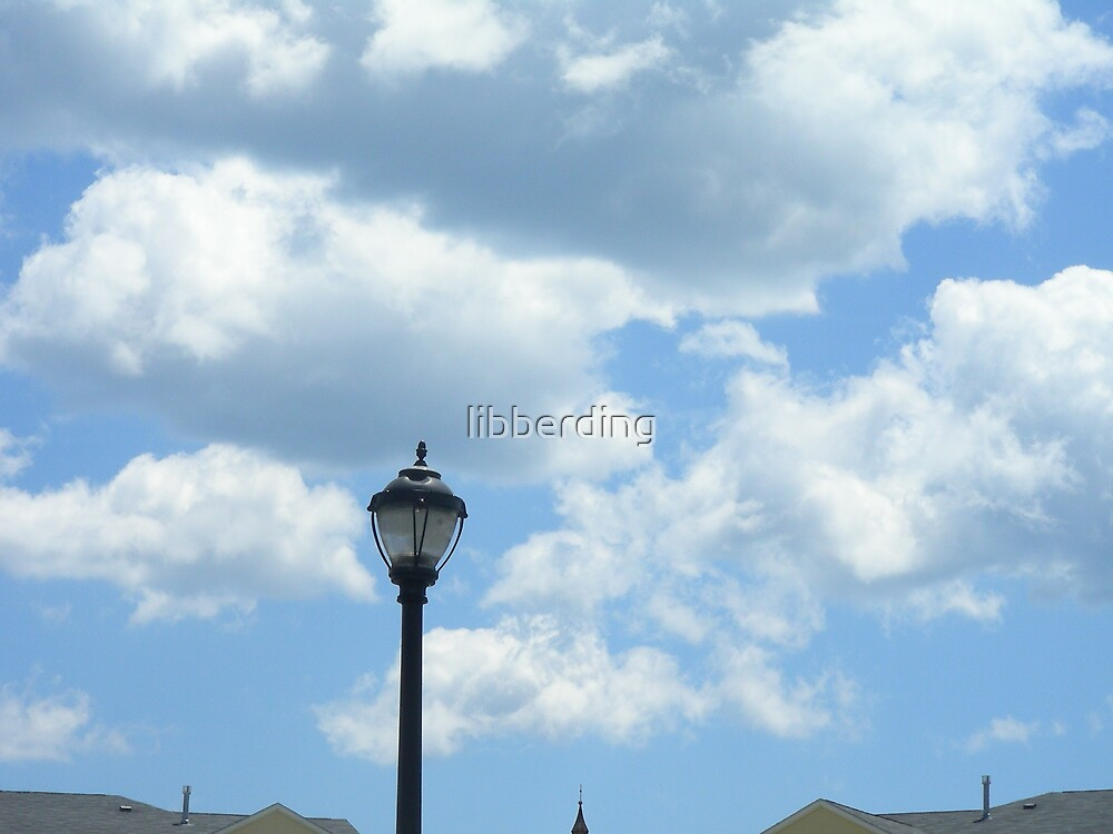 Partially Cloudy by libberding