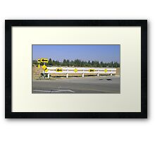 Arrows and more Arrows Framed Print