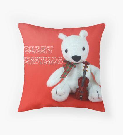 Beary Christmas The Third Throw Pillow