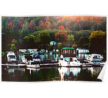 Fall Harbour Poster