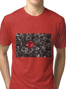 Poppies at the Tower Tri-blend T-Shirt