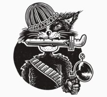 Gangster Cat by fabric8