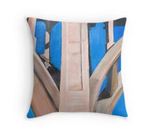 Vertical Support Throw Pillow