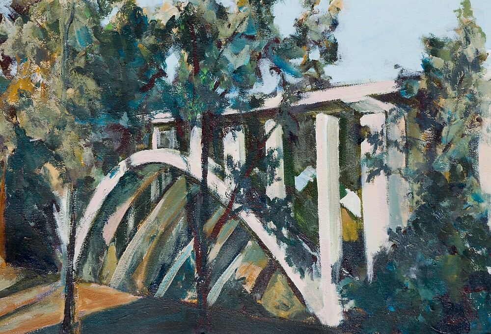 Arroyo Bridge by bluerabbit