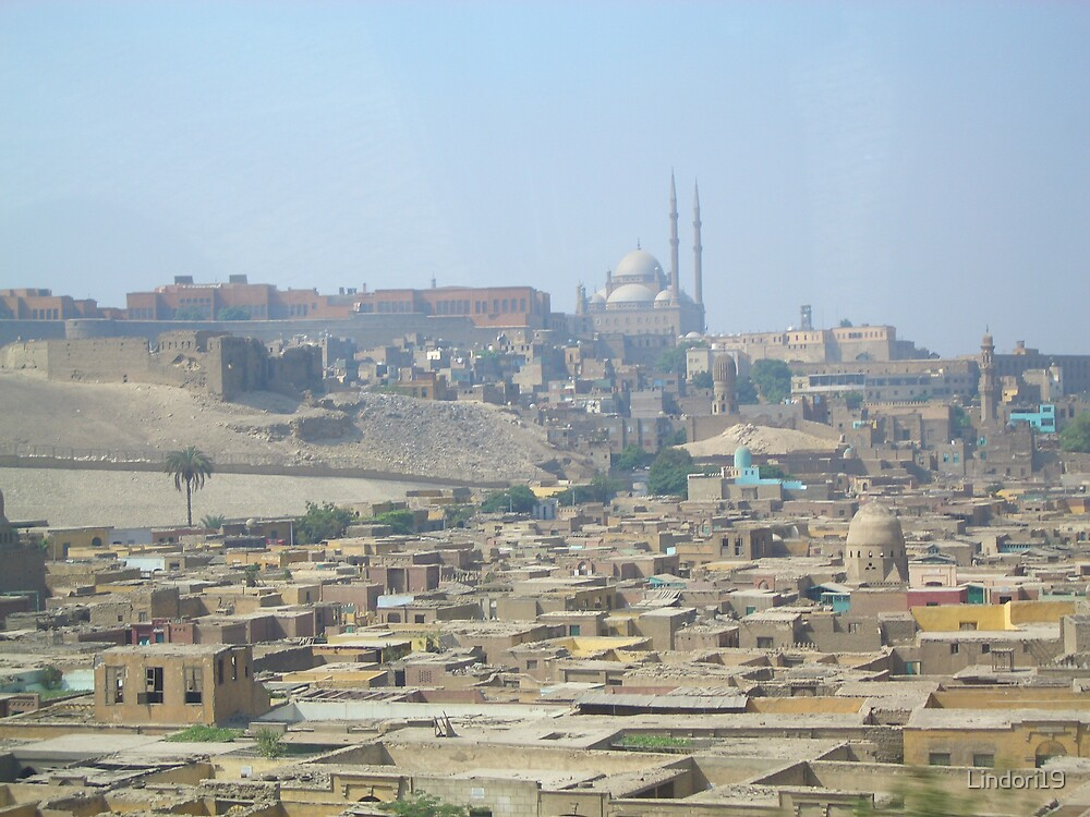 View Of Cairo Egypt by Lindori19