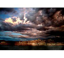 Crazy Storm Photographic Print